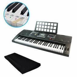 QMG 61 Key Digital Electronic Keyboard Piano with Dust Cover