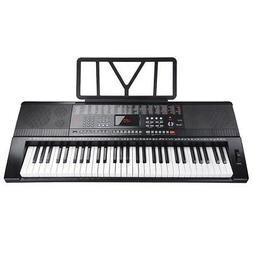 61 Key Full Size Electronic Music Keyboard Electric Piano LC
