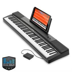 88-Key Electronic Keyboard Portable Digital Music Piano