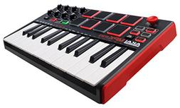 Akai Professional MPK Mini MKII | 25-Key Portable USB MIDI K