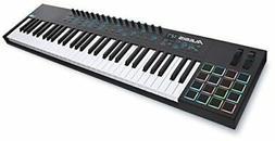 Alesis VI61 | Advanced 61-Key USB MIDI Keyboard & Drum Pad C