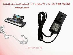 AC Adapter For RockJam  54-Key & 61-Key Electronic Digital K