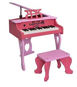 Schoenhut 30 Key Digital Baby Grand Piano, Pink