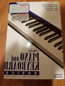 Brand New eMedia Piano and Keyboard Basics Win/Mac CD-ROM -