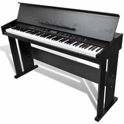 vidaXL Classic Electronic Digital Piano w/ 88 Keys & Music S