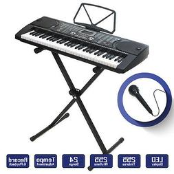 Digital Piano Keyboard 61 Key - Portable Electronic Instrume