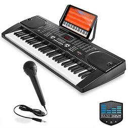 Hamzer 61 Key Electronic Piano Electric Organ Music Keyboard