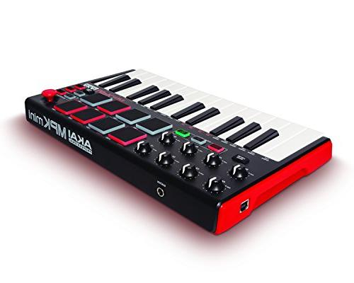 Akai Professional MKII | USB Keyboard With 16 Backlit 8-Assignable A