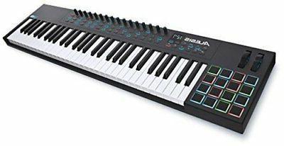 Alesis VI61   Advanced 61-Key USB MIDI Keyboard & Drum Pad C