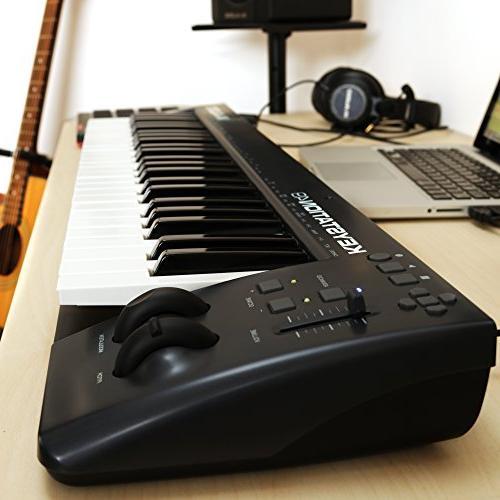 M-Audio Keystation   49-Key Keyboard Pitch-Bend & Modulation