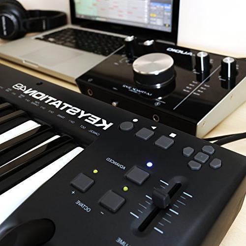 M-Audio Keystation 49   MIDI Keyboard & Modulation