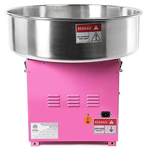 Olde Midway Quality Cotton Candy Machine Electric