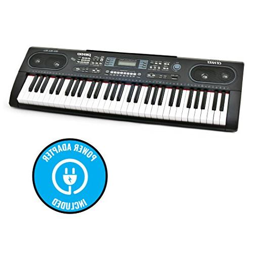 Plixio Keyboard LED Display, & Input- Music