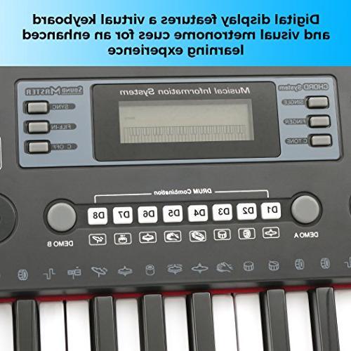 Plixio 61 Keyboard Piano Display, & Input-