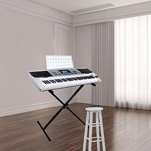 LAGRIMA Digital Electronic Keyboard Portable Electric Musical with Stand Beginners