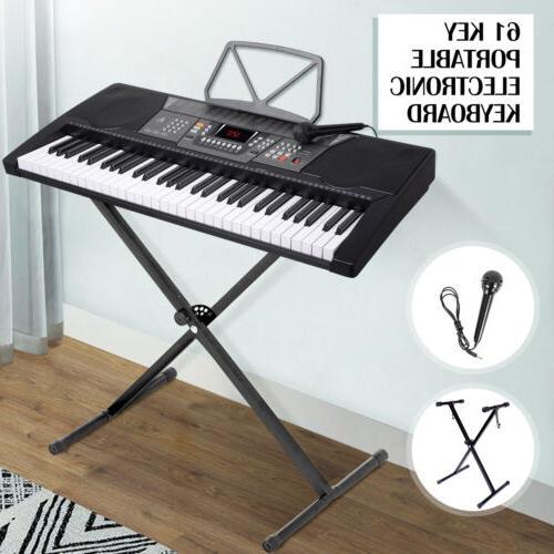 music electronic keyboard piano portable