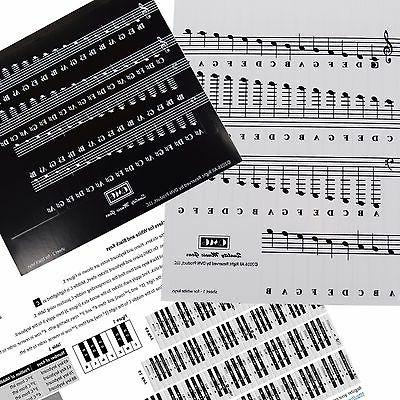 Piano and Set Stickers and Keys