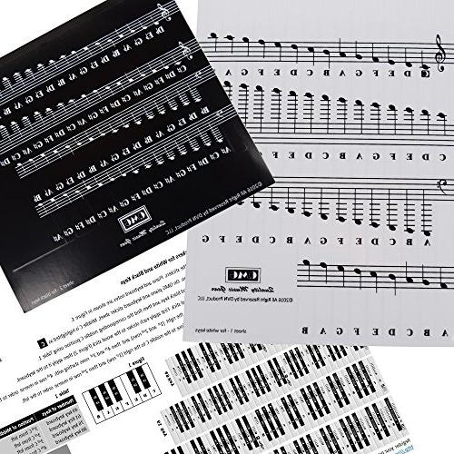 Piano Note Full for Keys with Piano EBook Transparent and For Easy Piano Lessons -100% Satisfaction Guarantee!