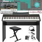 Plixio 61 Key Full Size Electronic Music Keyboard Electric P