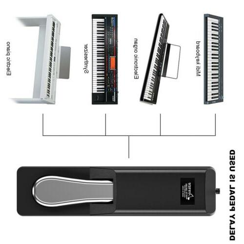Donner Keyboard Electronic Non-slip Foot Pedal
