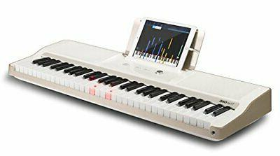 The ONE Keyboard Lighted Electric Golden-White Keyboard
