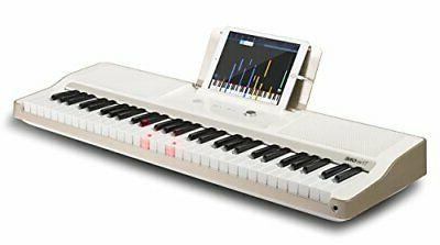 the one smart piano keyboard with lighted