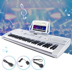 61 Key Music Electronic Keyboard Digital Piano Organ with Mi