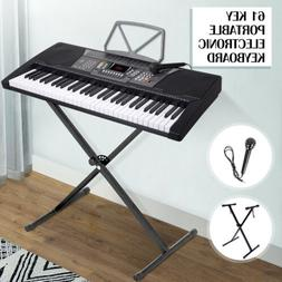 LAGRIMA 61 Key Music Digital Electronic Keyboard Piano Porta