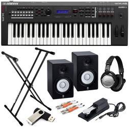 mx49 music synthesizer performer pak