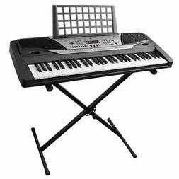 """Piano Keyboard """"X"""" Stand Electric Organ Rack Folding Metal H"""