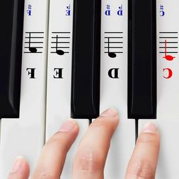 piano stickers for 49 61 76 88