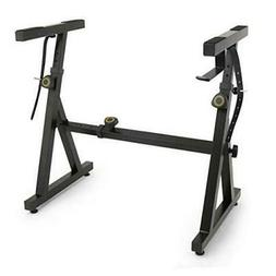 Plixio Piano Keyboard Stand - Z Style Adjustable and Portabl