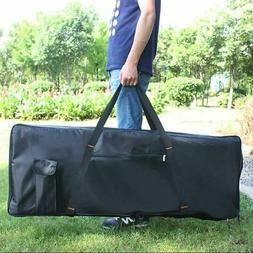 Portable 76-Key Keyboard Electric Piano Padded Case Gig Bag