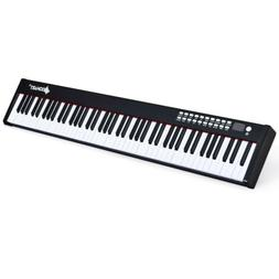 Portable BX-II Action 88 Key Weighted Digital Piano Keyboard