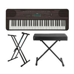 Yamaha PSR-E360 61-Key Portable Keyboard with Knox Keyboard