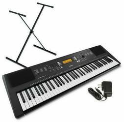 Yamaha PSR-EW300: 76-Key Portable Keyboard w/ Stand & Adapte
