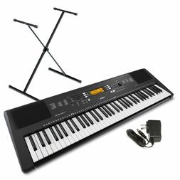 Yamaha PSR-EW300 SA 76-Key Portable Keyboard Bundle with Sta