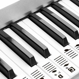 ❤ Removable Piano and Keyboard Stickers for 49 61 76 88 Tr
