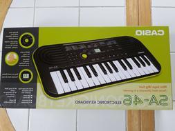 Casio SA-46 Mini Keyboard Kid's Portable Piano NEW IN BOX