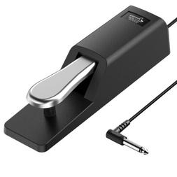 Donner Sustain Pedal for Keyboard Electronic Piano Non-slip