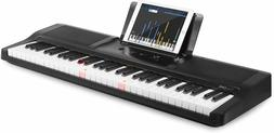 The One Smart Piano Keyboard With Lighted Keys, Electric Pia