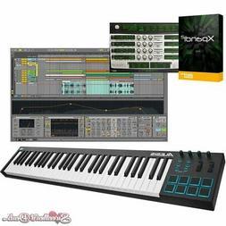 Alesis V61 61-Key USB MIDI Keyboard Controller + Ableton Liv